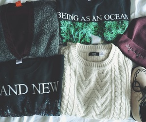 fashion, sweater, and indie image