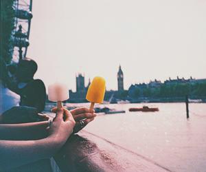 london, vintage, and ice cream image