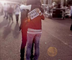 free hugs, friends forever, and old friends image