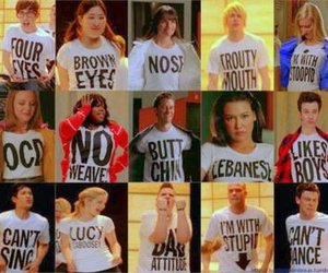 glee, born this way, and finn image