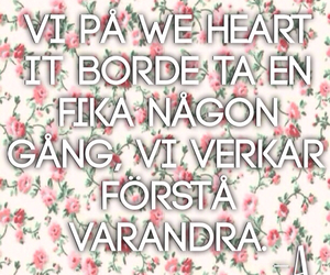 svenska and we heart it image