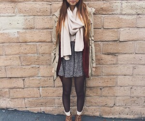 autumn, beautiful, and outfit image