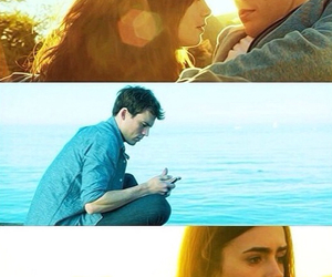 lily collins, new movie, and sam caflin image