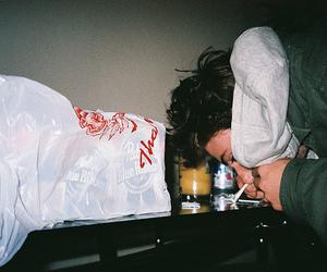 boy, drugs, and indie image