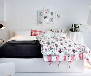 bedroom, home, and ikea image