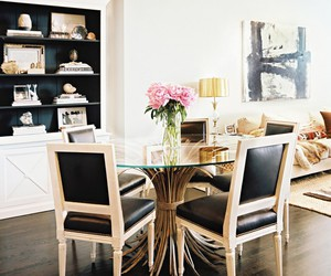 chic, interior design, and dining room image