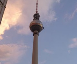 berlin and fernseh turm image