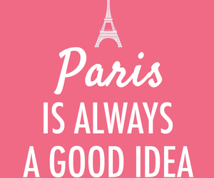 paris, quotes, and pink image