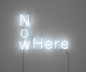 light, neon, and here image