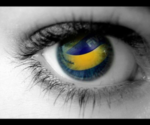 cool, eyes, and volleyball image