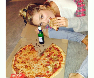 pizza, candice swanepoel, and model image