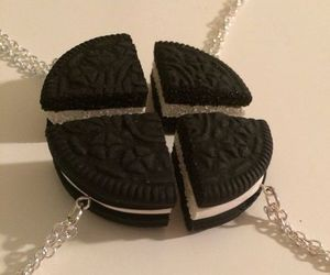 oreo and necklace image