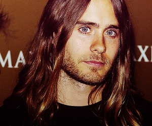 beard, jared leto, and blue eyes image