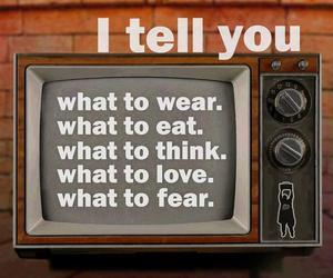 fear, reality, and television image