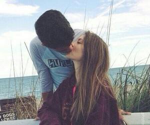 couple, kiss, and beautiful image