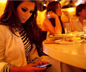 kim kardashian, blackberry, and kim image