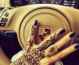 porsche, henna, and car image