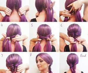 do it yourself, diy, and hair image