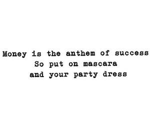 dress, Lyrics, and mascara image