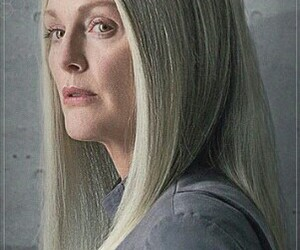mockingjay, president coin, and the hunger games image