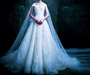 dress, bride, and michael cinco image