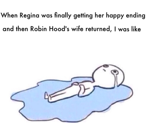 funny, heartbreak, and once upon a time image