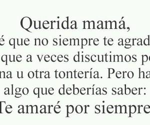 mama, querida, and saber image