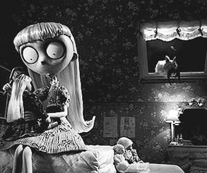 black and white, movie, and tim burton image