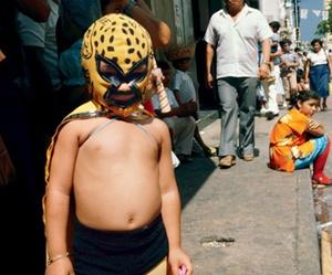 mask, mexico, and Nan Goldin image