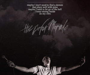 Lyrics, music, and the color morale image