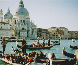 venice, italy, and vintage image