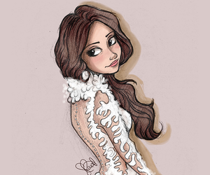 selena gomez, draw, and drawing image