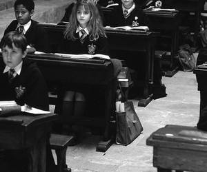 black and white, the philosopher's stone, and hermione ♥ image