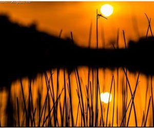 beautiful and sunset image