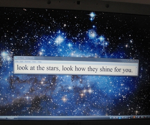 coldplay, picture, and stars image