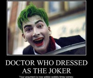 doctor who and joker image