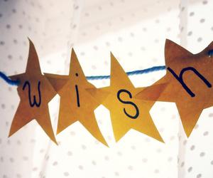 stars, wish, and text image