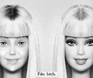 barbie, fake, and makeup image