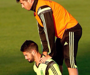 football, real madrid, and isco image