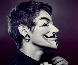 anonymous, mask, and v image