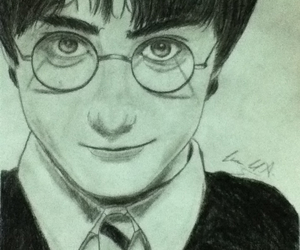 book, daniel radcliffe, and draw image