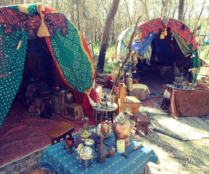 bohemian, camp, and gypsy image