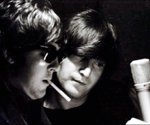 john lennon and Paul McCartney image