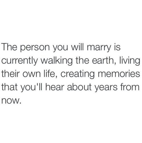 the person will marry currently walking the earth living