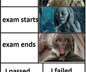 9gag, exam, and exams image