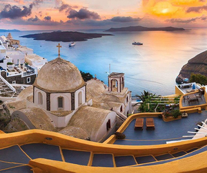 santorini, amazing, and Greece image