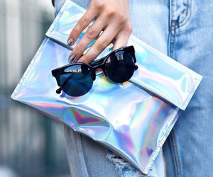 bag, sunglasses, and style image