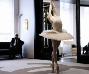 ballet, runway, and chanel image