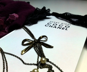 beautiful, chanel, and book image