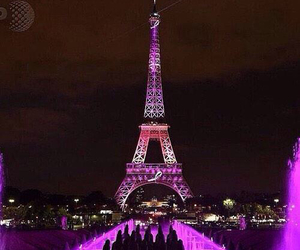 colors, eiffel, and love image